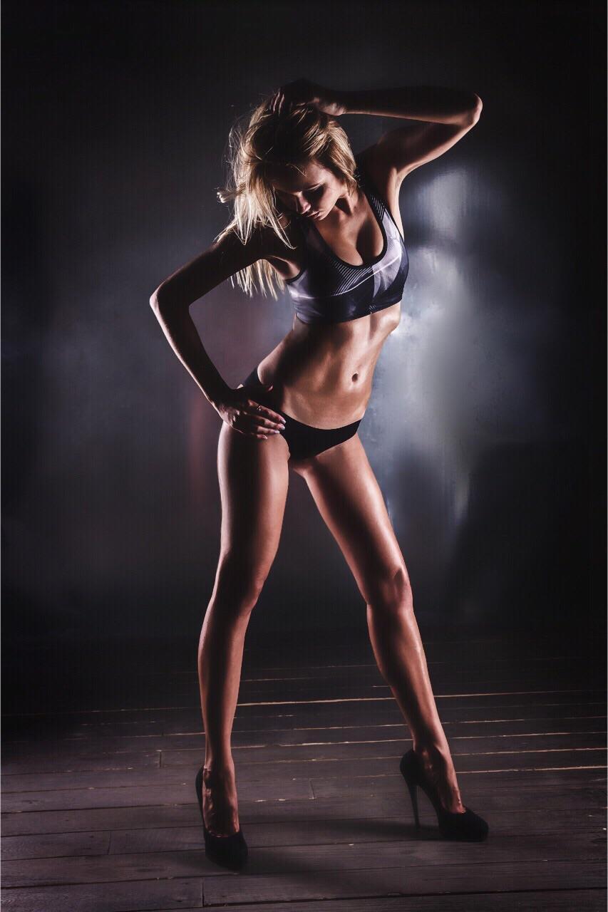 Watch Sexy Brunette Teen Super Models Striptease