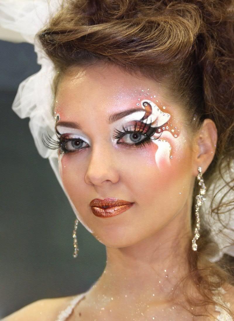 фантазийный макияж фото пошагово подумали поставить машине