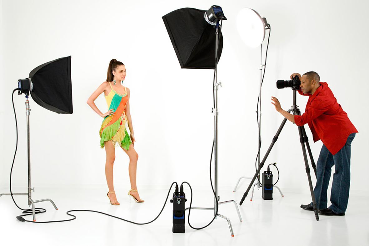 Как снять правильно студийное фото