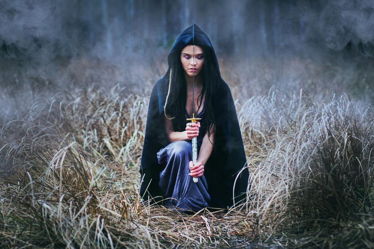 фотографии в образе ведьмы поиском