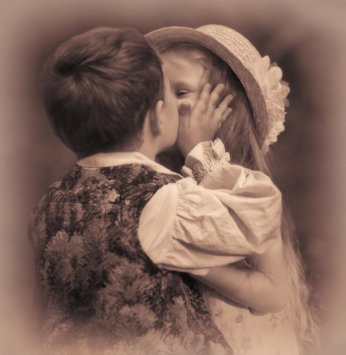 Картинки большие поцелуй