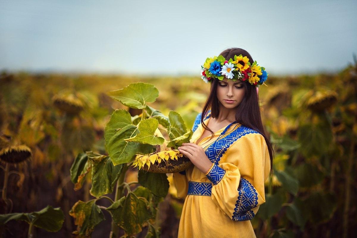 Картинка с девушкой украиной