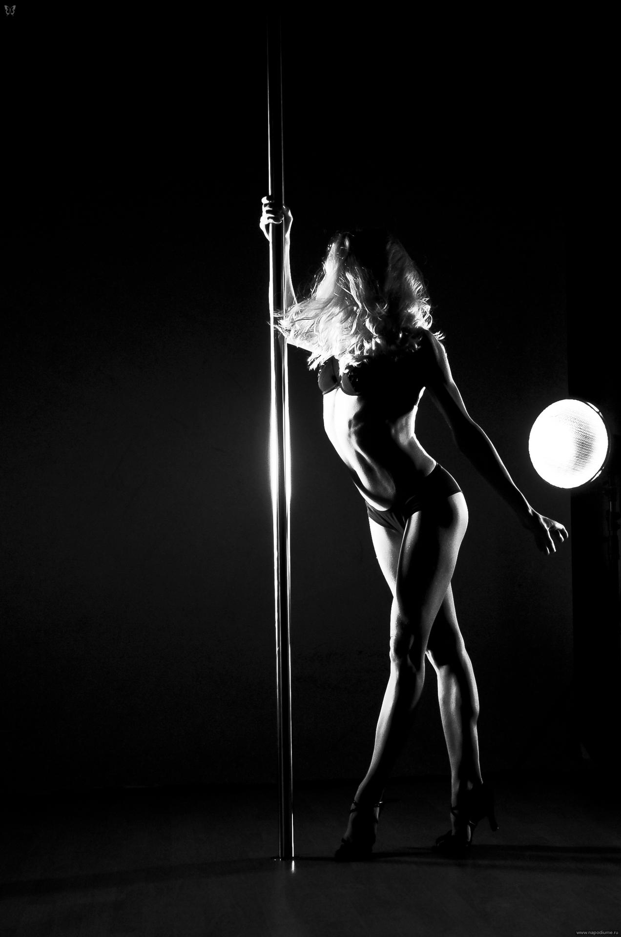 Black striptease