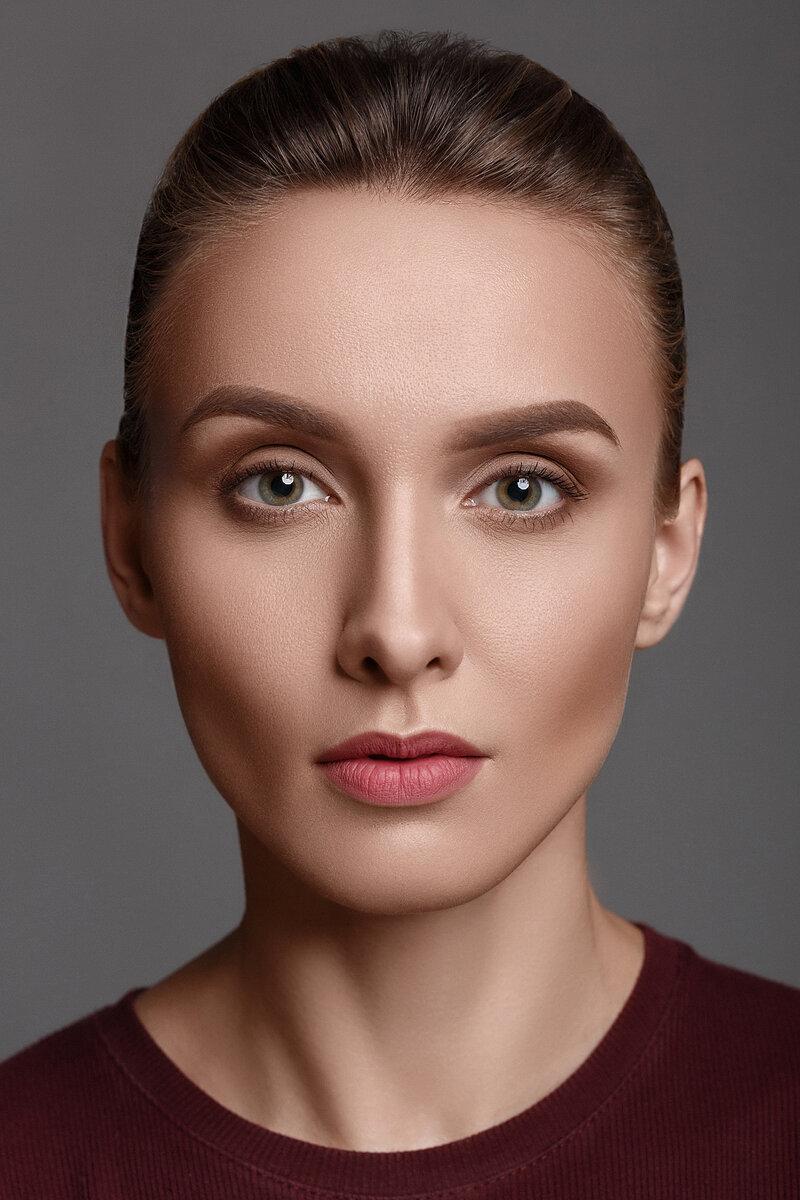 фотографии моделей без обработки отличие